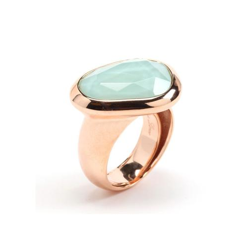 Rina Limor Sunrise Sea Green Ring-Rings-Rina Limor-JewelStreet