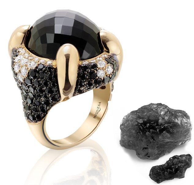 Venice Scaramuccia Onyx Ring