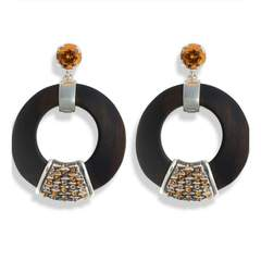 Orange Luz earrings