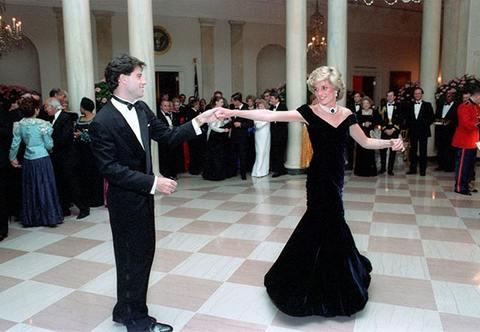 Princess Diana John Travolta