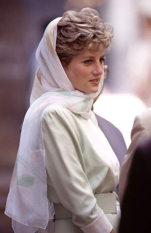 Princess Diana in Egypt