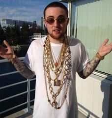 Mac Miller Gold Chains