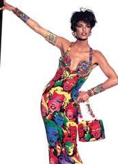 Andy Warhol Versace Dress