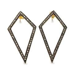Diamond Kite Earrings