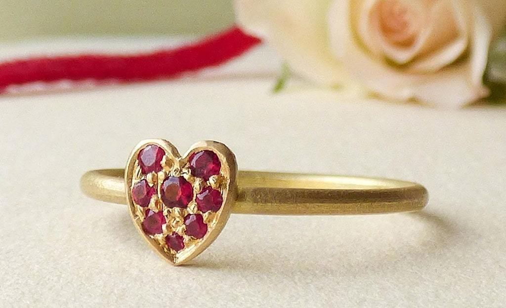 18kt Fairtrade Cherish Ruby Ring