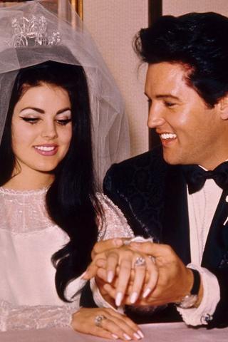 Elvis Presley wedding 1967