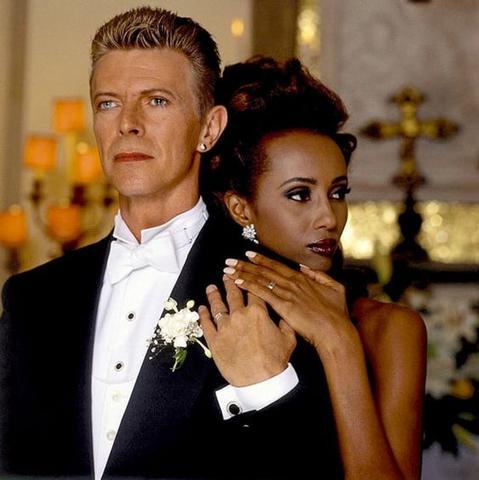 David Bowie Iman Wedding