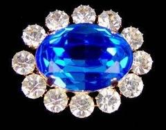Prince Albert's Sapphire and Diamond Brooch