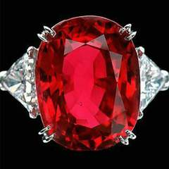 Cartier Ruby Ring