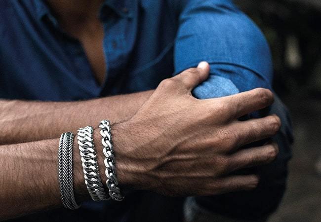 Edwin XL Bracelet Silver