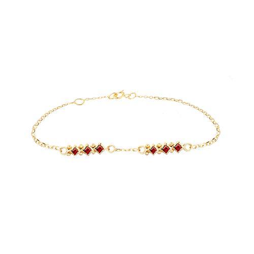 Lara bracelet Garnet
