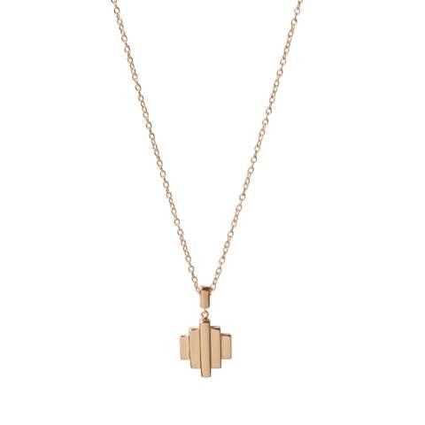 18kt Rose Gold Vermeil Baori One Pendant Necklace