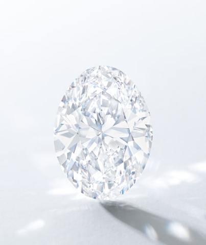 The Spectacular 88.22-Carat Oval Diamond