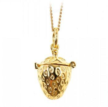 Gold Magical Charm Necklace -Health