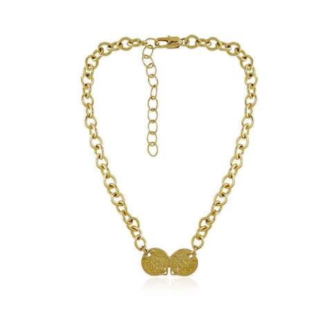 Carou coin necklace