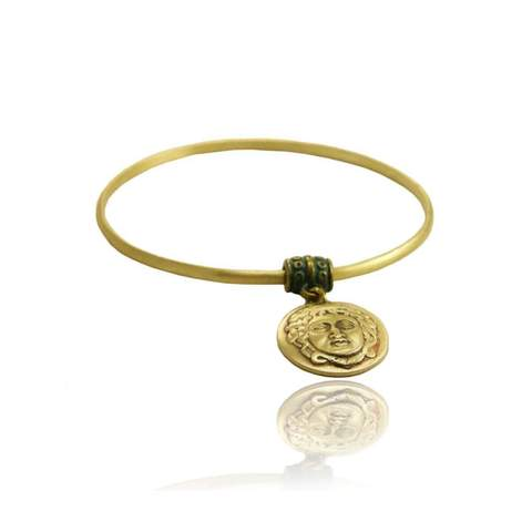 My Bling coin bracelet bangle