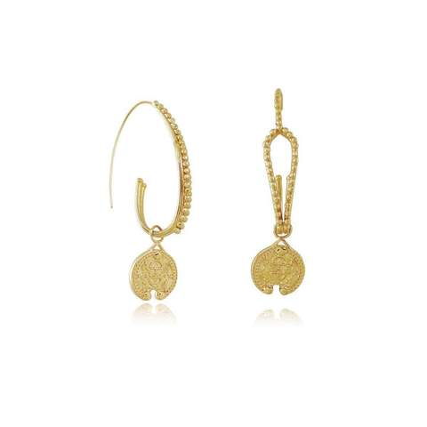 Carou coin earrings