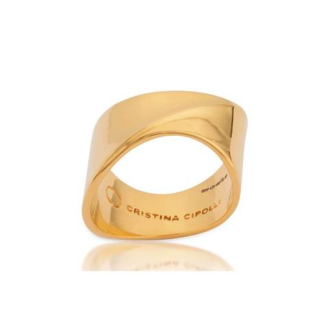 Gold sharch ring
