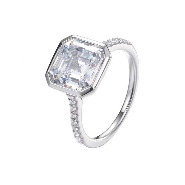Chloe Asscher Cut Ring