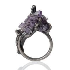 Cascade Ring Amethyst