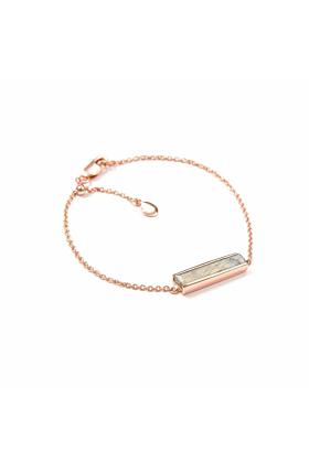 18kt Rose Gold Vermeil Urban Bracelet With Labradorite