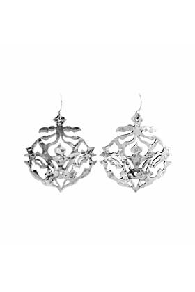 Sterling Silver Andalusia Drop Earrings