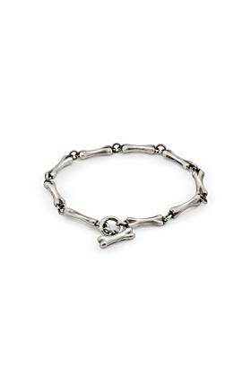 Sterling Silver Bones Bracelet | Snake Bones