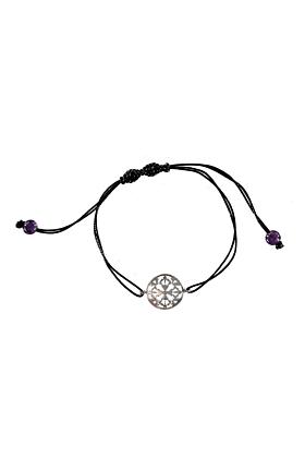 Sterling Silver Peace & Balance Bracelet