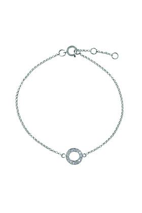 Portobello White Gold Meridian Diamond Bracelet
