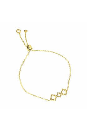 18kt Yellow Gold Vermeil Baori Trinity Silhouette Bracelet