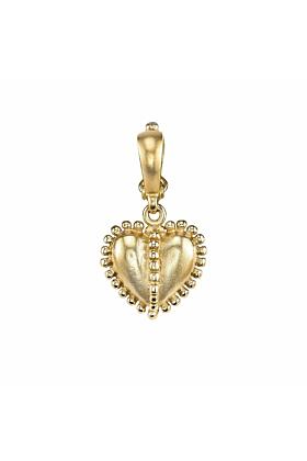 Granulated Heart Charm