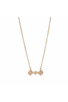 Baori Trinity Necklace Rose Gold Vermeil