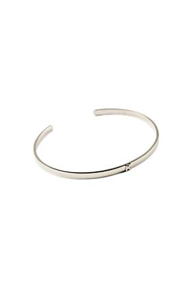14kt White Gold Character Bracelet