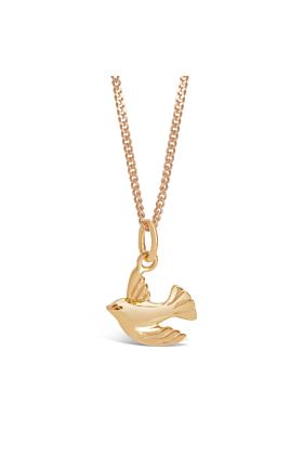 Gold Bird Pendant