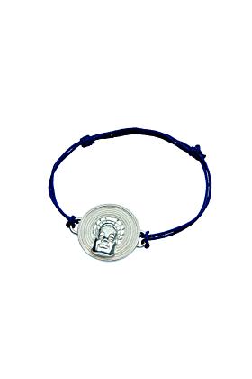 Sterling Silver Mangbetu Bracelet