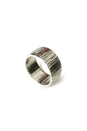 Sterling Silver Beautiful Textured Ring