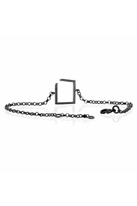 Square Oxidised Bracelet
