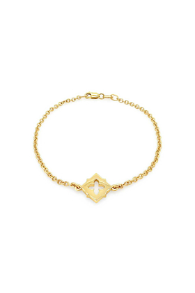 9kt Yellow Gold Embrasure Bracelet