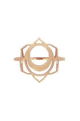 Rose Gold Svadisthana Ring | Tiny-Om