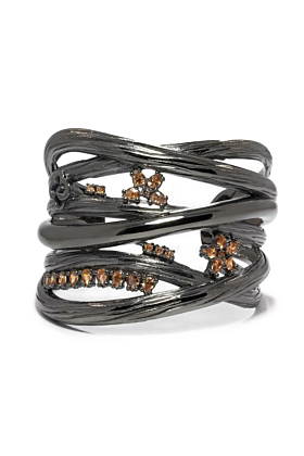 Black Rhodium Plated VANILLA Bracelet