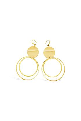 Yellow Gold Plated Hadley Earrings