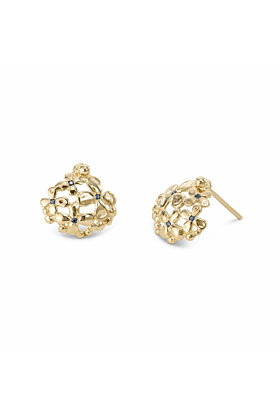 14kt Yellow Gold Femi Earrings