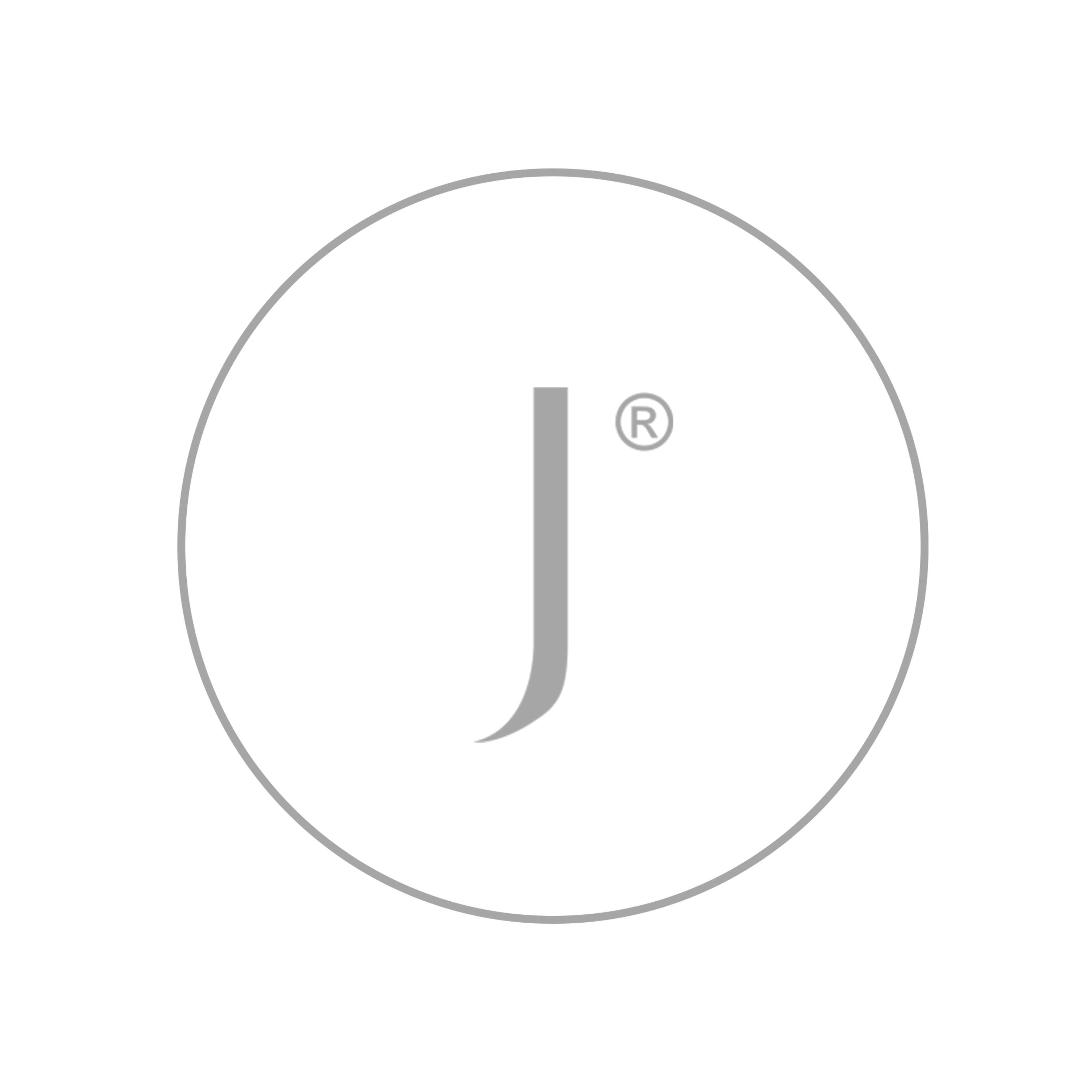 Sterling Silver Sharch Hoop Earrings With Pink Tourmaline