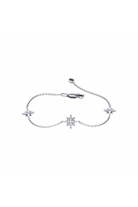 North Star Trio Bracelet in Sterling Silver