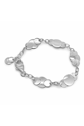 Cherish Linked Circles Bracelet
