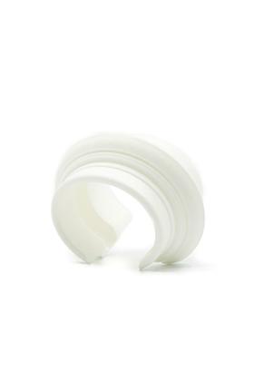 MyCity Napoli Wide Cuff in White