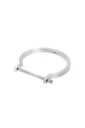 Silver Classic Screw Cuff Bracelet