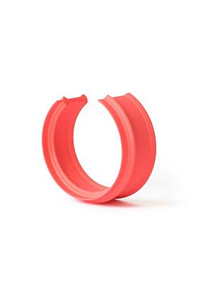 MyCity Tehran Thin Cuff In Red