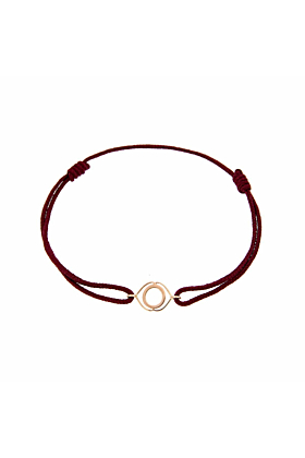 Rose Gold & Thread Ajna Bracelet | Tiny-Om