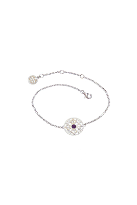 The Serenity of Harmony White Gold Bracelet